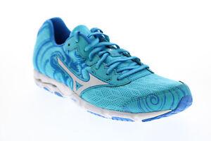 Mizuno Wave Hitogami FCLL511B56 Womens Blue Mesh Athletic Running Shoes 8