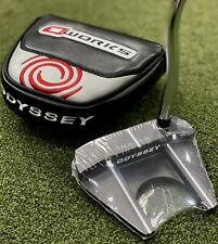 """Odyssey O-Works Black #7 LEFT Hand Mallet Putter 35"""" Inch w/ Headcover NEW 82888"""