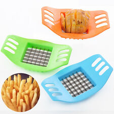 Hot Stainless Steel Potato Cutter Slicer Chopper Kitchen Cooking Tools Gadgets