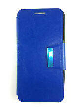 COVER CASE FOR MOTOROLA GOOGLE NEXUS 6 COVER WITH CLOSURE OF MAGNETIC BLUE
