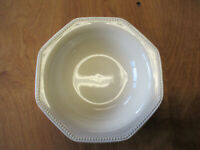 "Martha Stewart MSE MTW12 OCTAGONAL IVORY Cereal Bowl 7"" 1 ea    9 available"