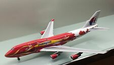 JC Wings 1/200 Malaysia Airlines Boeing 747-400 Hibiscus 9M-MPB die cast model