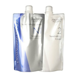 Hair Rebonding Shiseido Crystallizing Hair Straightener (N1+2) 400g