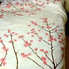 Home Classics Shower Curtain Apple Blossom Pink 72 long 70 wide #B2
