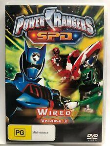 Power Rangers SPD - Wired Volume 3 - DVD - AusPost with Tracking