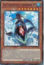 YU-GI-OH CARD: THE LEGENDARY FISHERMAN III - STAR RARE - SP17-EN028 -1st EDITION