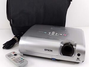 Epson EMP-S4 LCD Projector w/ Remote and Carry Case