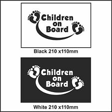 Children On Board Car Sign Decal Sticker Children On Board sticker