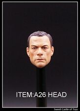 1/6 Custom Jean-Claude Van Damme The Expendables Head A-23 For DAM Phicen Body