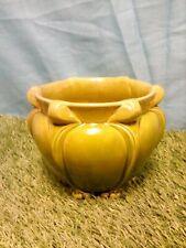 More details for vintage bretby green glazed art deco planter