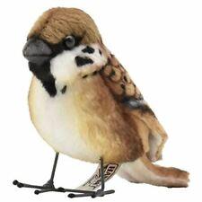 "Hansa Sparrow Plush Toy 3"" H"