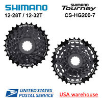 Shimano Tourney CS-HG200-7 7-Speed Cassette 12-28T 12-32T (OE)