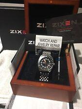 Zixen Trimix GMT Deep Diver Limited Edition, wirklich ausgezeichnet und selten!!!