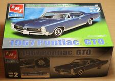 AMT Ertl 1/25 scale 1967 Pontiac GTO Model Kit Unbuilt Complete 2002 31764 MPC