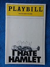 I Hate Hamlet - Walter Kerr Theatre Playbill w/Ticket - April 27th, 1991 - Holm