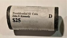 2015 D Presidential Dollars * Kennedy* 1 Roll of 25 * US Mint Rolled * SMS