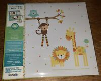 Tapestry CR Gibson Animal Complete Scrapbook Album 12x12 Baby Kid Attach Video