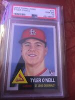 2018 Topps Living Set #77 Tyler O'Neill RC Rookie ~PSA 10~Free Shipping