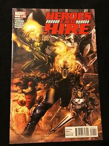 Marvel Heroes for Hire vol3 #1 VF+