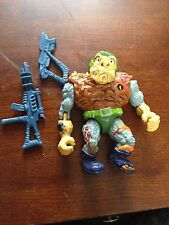 Playmates Toys General Traag Action Figure Ninja Turtles w/ some accessories