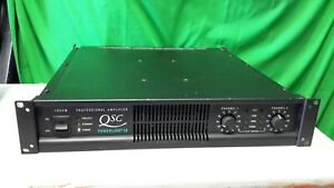 QSC Powerlight 1.8 - 2 Channel 1800 Watt Professional Stereo Amplifier Rackmount