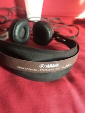 VINTAGE Yamaha YH-2 Orthodynamic Stereo Headphones