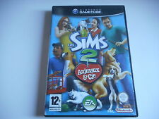 JEU NINTENDO GAME CUBE - LES SIMS 2 ANIMAUX & CIE - COMPLET