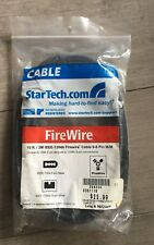 Star Tech 10 ft 1394b FireWire 800 Cable 9-6 M/M