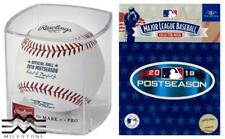 Rawlings Officially Licensed 2018 MLB Postseason Cubed Baseball & Patch