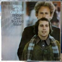 SIMON AND GARFUNKEL LP BRIDGE OVER TROUBLED WATER EUROPE REISSUE VG++/EX