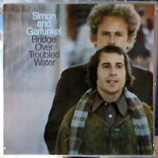 SIMON AND GARFUNKEL LP BRIDGE OVER TROUBLED WATER EUROPE REISSUE VG++/EX