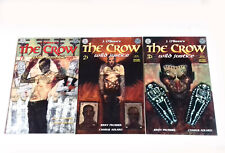 Kitchen Sink Comix Comic The Crow Wild Justice 1, 2, 3 THE FULL SET