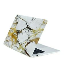 "Air 13-Inch White/Gold Marble Matte Hard Case for Macbook Air 13"" A1369 & A1466"