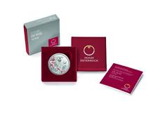 Coffret BE Proof 10 Euros Argent Ag 925 Autriche 2021 - Roses