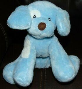 """Baby Gund Spunky Blue puppy dog  Lovey plush 8"""""""