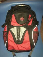 SWISS GEAR BY WENGER BACKPACK COMPUTER LABTOP SHOCK ABSORBING COLOR - RED