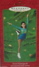 Hallmark Ornament Kristi Yamaguchi Ice Skating Skater 2000 Christmas Holiday
