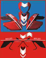 Adesivi Ducati Hypermotard Yper - adesivi/adhesives/stickers/decal
