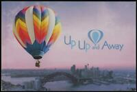 UP UP and AWAY PRESTIGE BOOKLET of AUSTRALIAN STAMPS 2008 - MINT