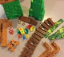 Board Game Parts: FORBIDDEN BRIDGE, Milton Bradley, 1992, replacement pieces