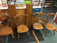 ethan allen maple dining furniture sets