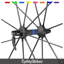Cubo de rueda color tiras 12 bicicleta Carretera Mtb Mavic Pegatina Adhesiva