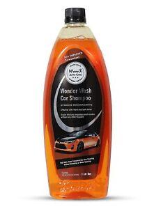 Wonder Wash Car Shampoo (PH Balanced, 1Lt) For Effective Heavy Duty Cleaning