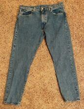 Levi's Lot 512 Mens Denim Big E Blue Jeans 34x32