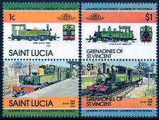 LYNTON & BARNSTAPLE RAILWAY (L&B / SR) Collection 4 x GB Train Stamps (Loco 100)