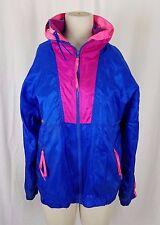 Vintage Columbia Intertrainer 3in1 Winbreaker Fleece Shell Rain Jacket Womens XL