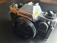 Olympus OM-10 Silber + Manual Adapt.