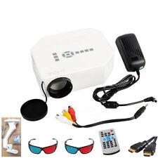 LED Mini Digital-projektor UC30 Heimkino Multimedia 1080P AV VGA USB HDMI