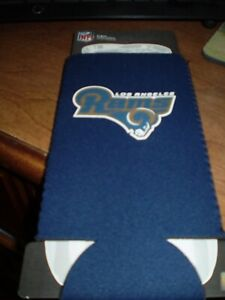 Los Angeles Rams  24 ounce  KOOZIE  HOLDER Holds Big Cans or Soda Bottle