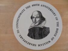 1964 Royal Doulton William Shakespeare 400th Anniversary Commemorative Plate